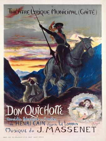 Poster Advertising the First Production of the Opera