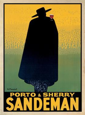 Porto and Sherry Sandeman, 1931 by Georges Massiot