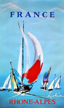 Rhone Alpes - France - Sailing by Georges Mathieu