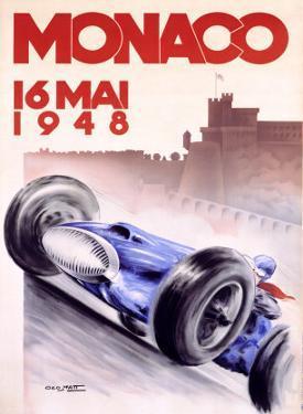 Monaco, 1948 by Georges Mattei