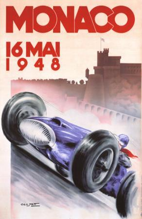 Monaco Grand Prix, 1948 by Georges Mattei