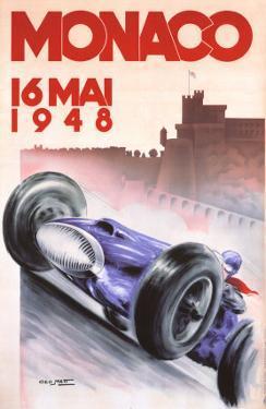 Monaco Grand Prix, 1948 by Georges Mattei