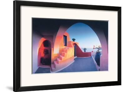 Sunlit Steps by Georges Meis