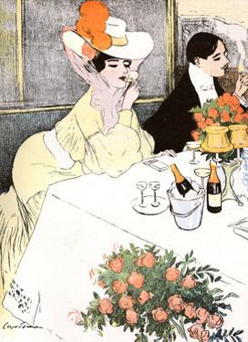 Sedate French Diners by Georges Meunier