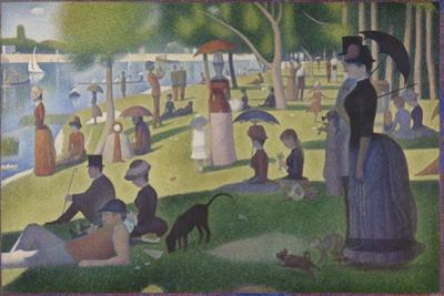 A Sunday on La Grande Jatte, 1884-86 by Georges Pierre Seurat