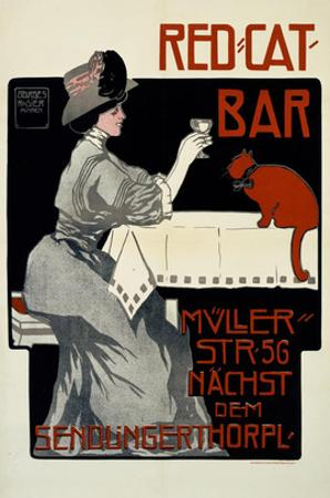 Red Cat Bar by Georges Rogier