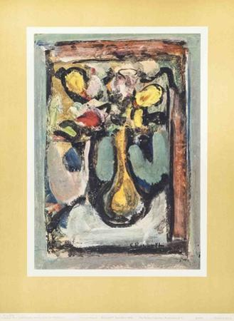 Bouquet Number One by Georges Rouault