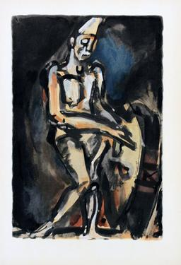 Le Clown by Georges Rouault