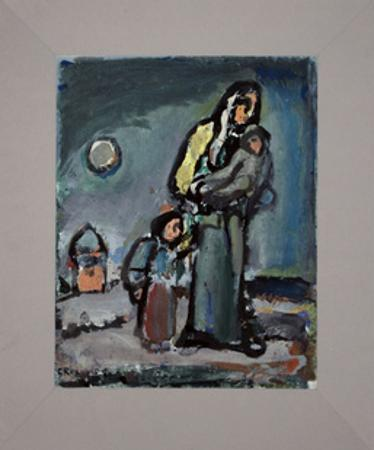 Mother and Child by Georges Rouault