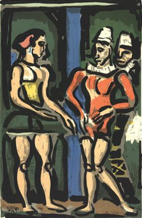 The Parade by Georges Rouault