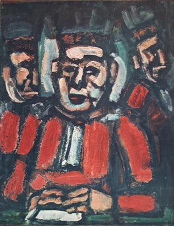The Three Judges by Georges Rouault