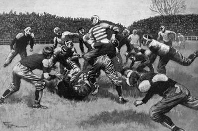 US Football Match 1903
