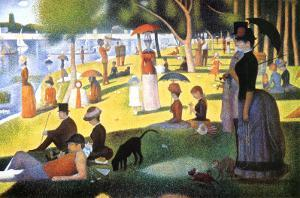 A Sunday on La Grande Jatte 1884, 1884-86 by Georges Seurat