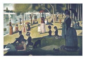 A Sunday on La Grande Jatte 1884, 1884-86 by Georges Seurat
