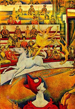 Georges Seurat Circus Art Print Poster