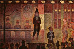 Circus Parade, 1887-8 by Georges Seurat