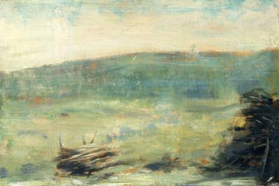 Landscape at Saint-Ouen by Georges Seurat