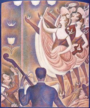Le Chahut (The Can-Can) by Georges Seurat by Georges Seurat