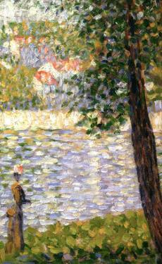 Morning Stroll by Georges Seurat