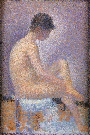 Profile of a Model by Georges Seurat