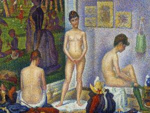 Seurat: Models, C1866 by Georges Seurat
