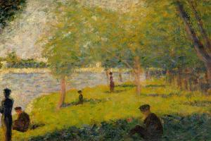 Study for a Sunday on La Grande Jatte by Georges Seurat