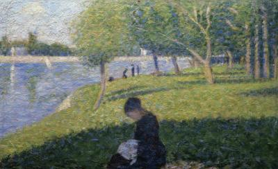 Study for Sunday on la Grande Jatte by Georges Seurat