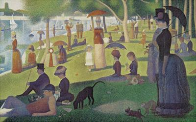 Sunday Afternoon on the Island of Grand Jatte 1864-6 by Georges Seurat