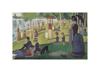 Sunday Afternoon on the Island of Grand Jatte 1864-6