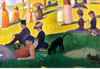 Georges Seurat Sunday at La Grande Jatte Art Print Poster