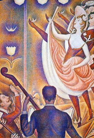 Georges Seurat The Big Show Art Print Poster