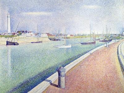 The Channel of Gravelines, Petit Fort Philippe, 1890 by Georges Seurat