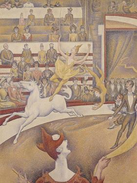 The Circus, 1891 by Georges Seurat