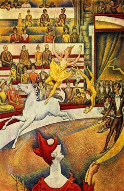Georges Seurat (The circus) Art Poster Print