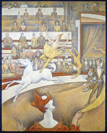 The Circus by Georges Seurat by Georges Seurat