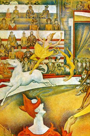 The Circus by Georges Seurat