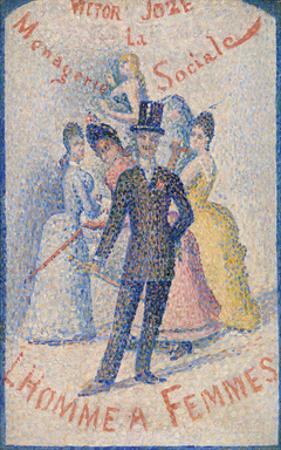 The Ladies' Man (L'Homme à femmes), 1890 by Georges Seurat
