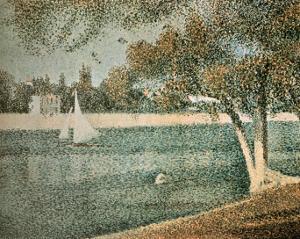 The Seine Near Grande Jatte by Georges Seurat