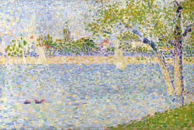 The Seine Seen from La Grande Jatte, 1888