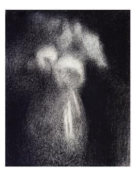 Vase de Fleurs by Georges Seurat