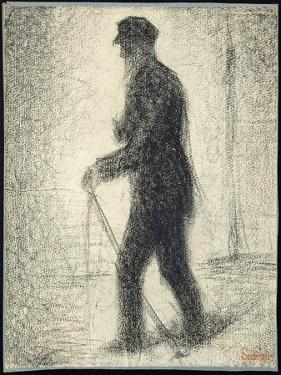 Walking, C.1882 by Georges Seurat