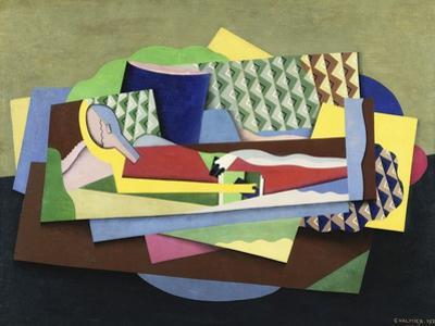 Woman Lying Down; Femme Couchee, 1924