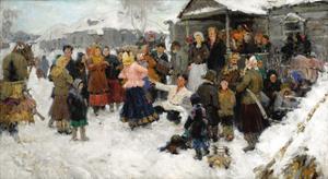 Winter Wedding, 1950 by Georgi Fyodorovich Gotgoldt