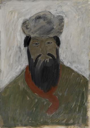 Kulak, 1930 by Georgi Iosifovich Rublev