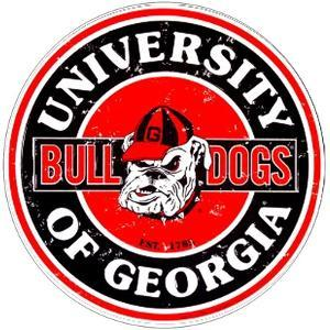Georgia Bulldogs 12""