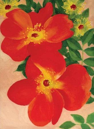 Austrian Copper Rose by Georgia O'Keeffe