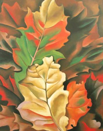 Autumn Leaves by Georgia O'Keeffe