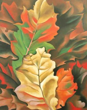 Autumn Leaves by Georgia O'Keeffe