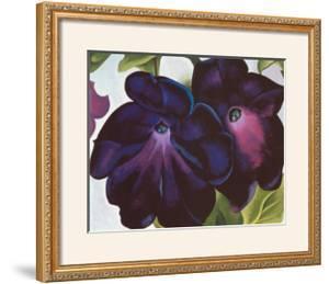 Black and Purple Petunia, 1925 by Georgia O'Keeffe