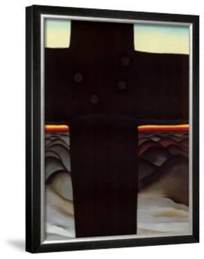 Black Cross New Mexico by Georgia O'Keeffe